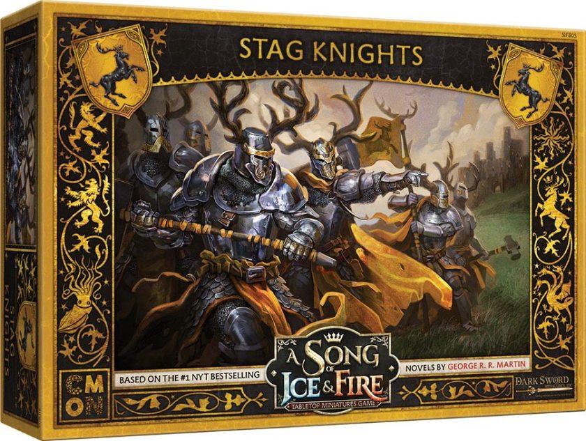 Baratheon Stag Knights Boite de jeu