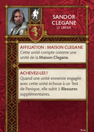 Sandor Clegane Le Limier 1.4 FR