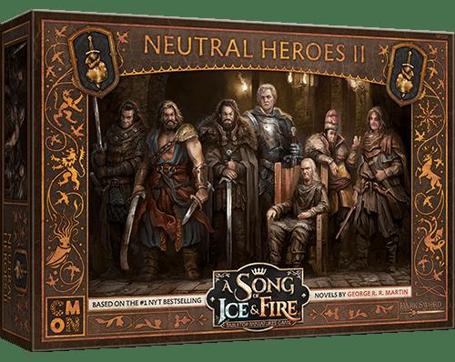 Neutral Heroes II Boite de jeu Preview